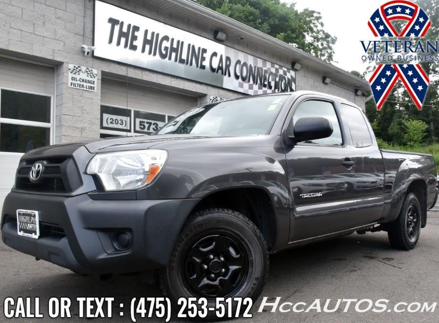 Used Toyota Tacoma 2WD Access Cab I4 MT 2013 | Highline Car Connection. Waterbury, Connecticut