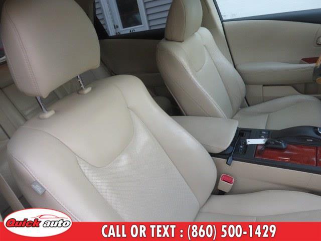 Used Lexus RX 350 AWD 4dr 2010 | Quick Auto LLC. Bristol, Connecticut
