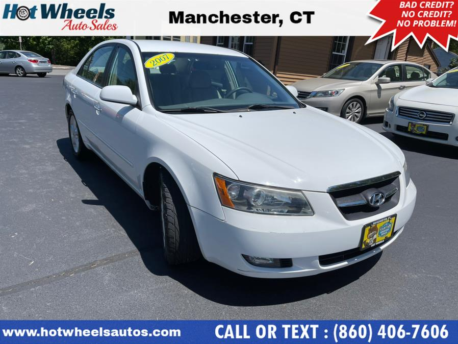 Used 2007 Hyundai Sonata in Manchester, Connecticut | Hot Wheels Auto Sales LLC. Manchester, Connecticut