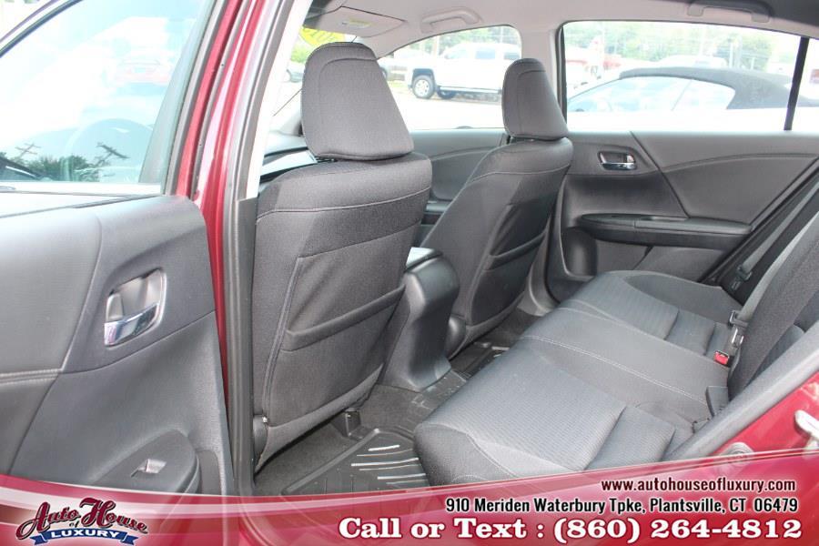 Used Honda Accord Sedan 4dr I4 CVT Sport 2015 | Auto House of Luxury. Plantsville, Connecticut