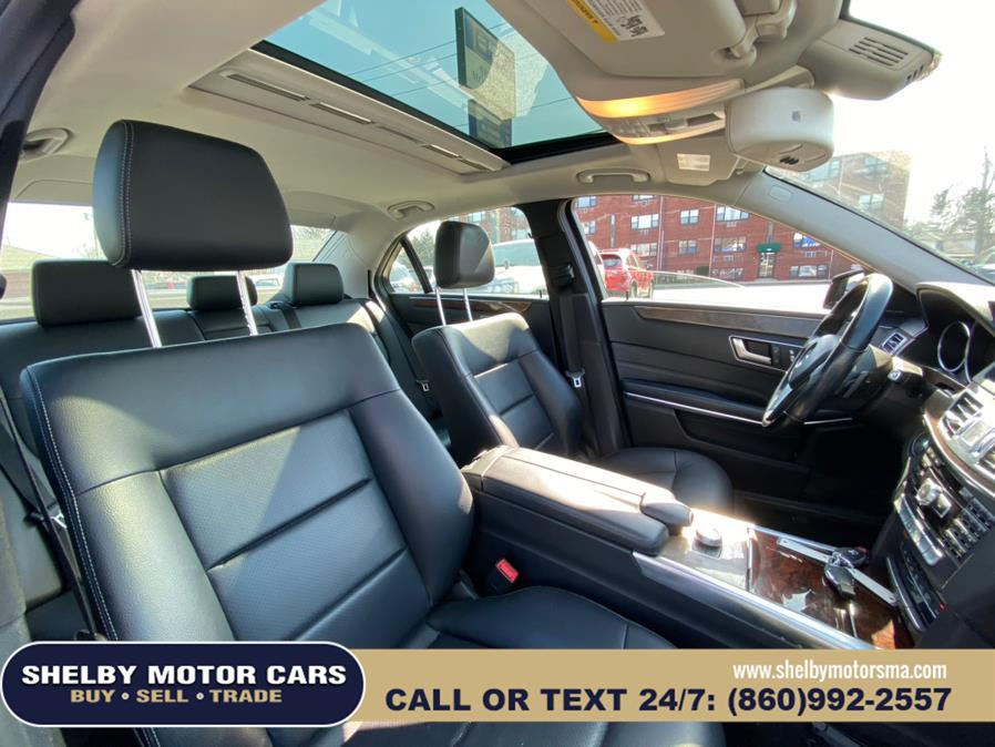 Used Mercedes-Benz E-Class 4dr Sdn E 350 Luxury 4MATIC 2014   Shelby Motor Cars. Springfield, Massachusetts