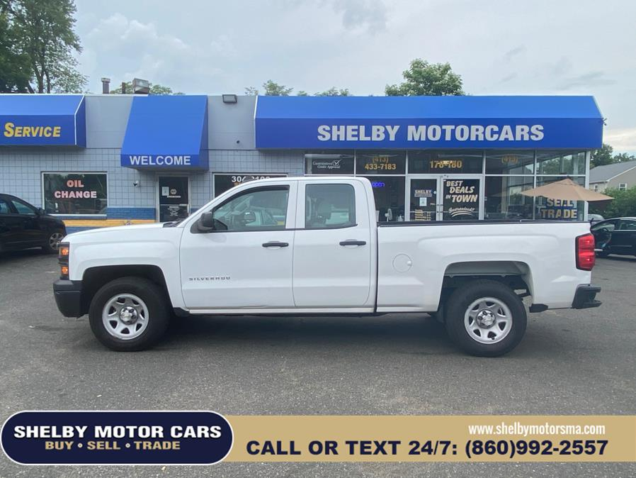 """Used Chevrolet Silverado 1500 2WD Double Cab 143.5"""" Work Truck 2015 