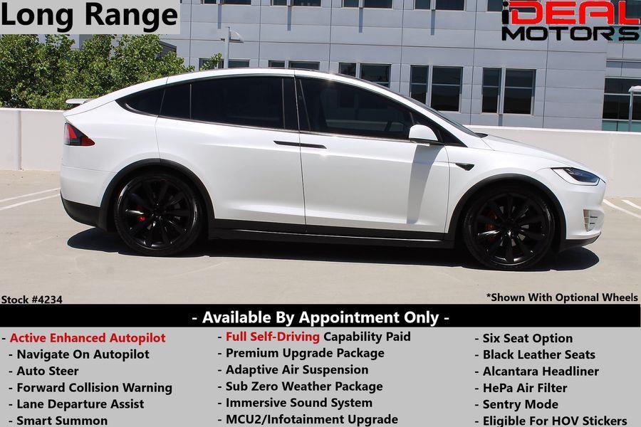 Used Tesla Model x Long Range Sport Utility 4D 2019 | Ideal Motors. Costa Mesa, California