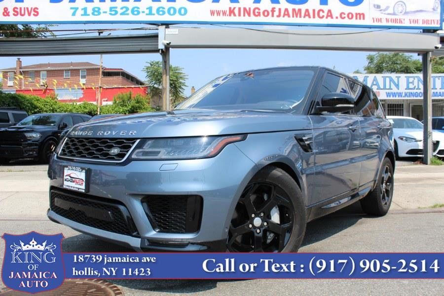 Used Land Rover Range Rover Sport V6 Supercharged HSE *Ltd Avail* 2019 | King of Jamaica Auto Inc. Hollis, New York