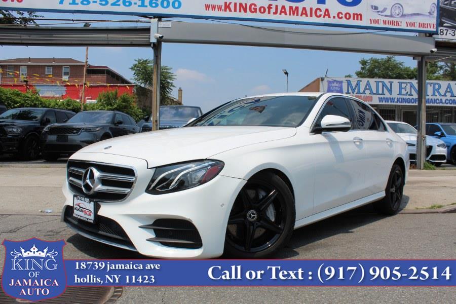 Used Mercedes-Benz E-Class E 300 RWD Sedan 2018   King of Jamaica Auto Inc. Hollis, New York