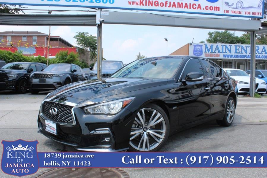 Used INFINITI Q50 3.0t SPORT 2019 | King of Jamaica Auto Inc. Hollis, New York