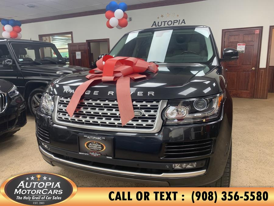 Used Land Rover Range Rover 4WD 4dr HSE 2014 | Autopia Motorcars Inc. Union, New Jersey