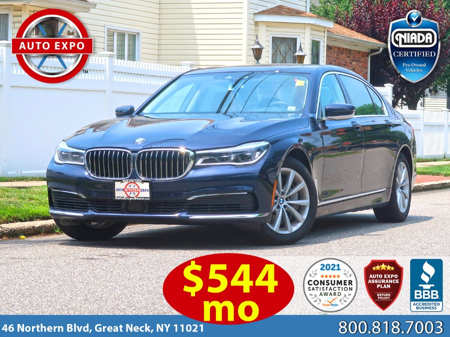 Used 2019 BMW 7 Series in Great Neck, New York | Auto Expo Ent Inc.. Great Neck, New York
