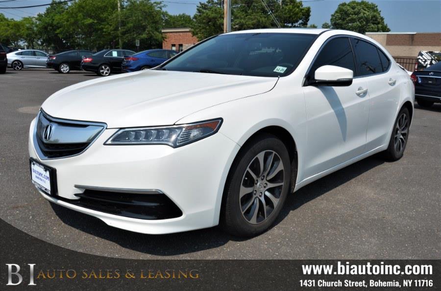 Used Acura TLX 4dr Sdn FWD 2016 | B I Auto Sales. Bohemia, New York