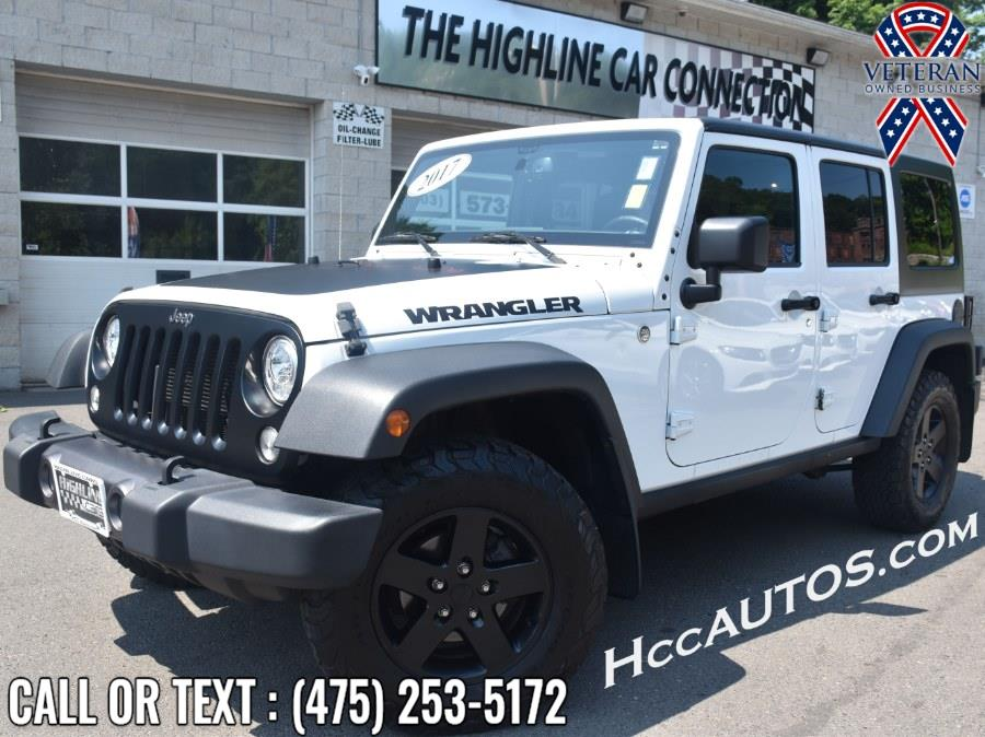 Used Jeep Wrangler Unlimited Sport 4x4 2017 | Highline Car Connection. Waterbury, Connecticut