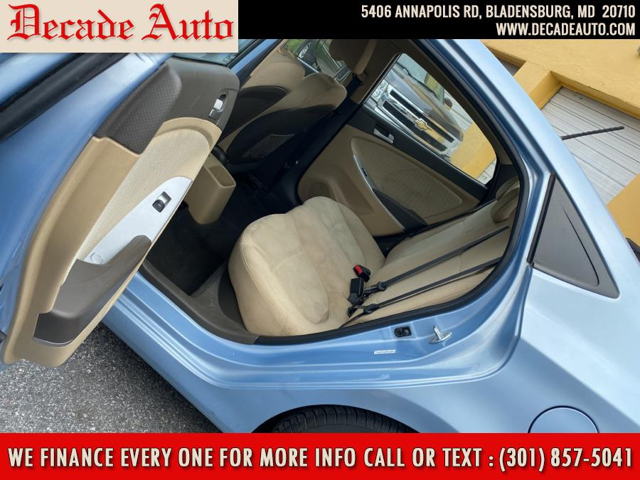 Used Hyundai Accent 4dr Sdn Auto GLS 2014   Decade Auto. Bladensburg, Maryland
