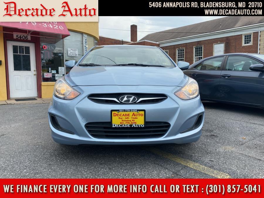 Used 2014 Hyundai Accent in Bladensburg, Maryland | Decade Auto. Bladensburg, Maryland