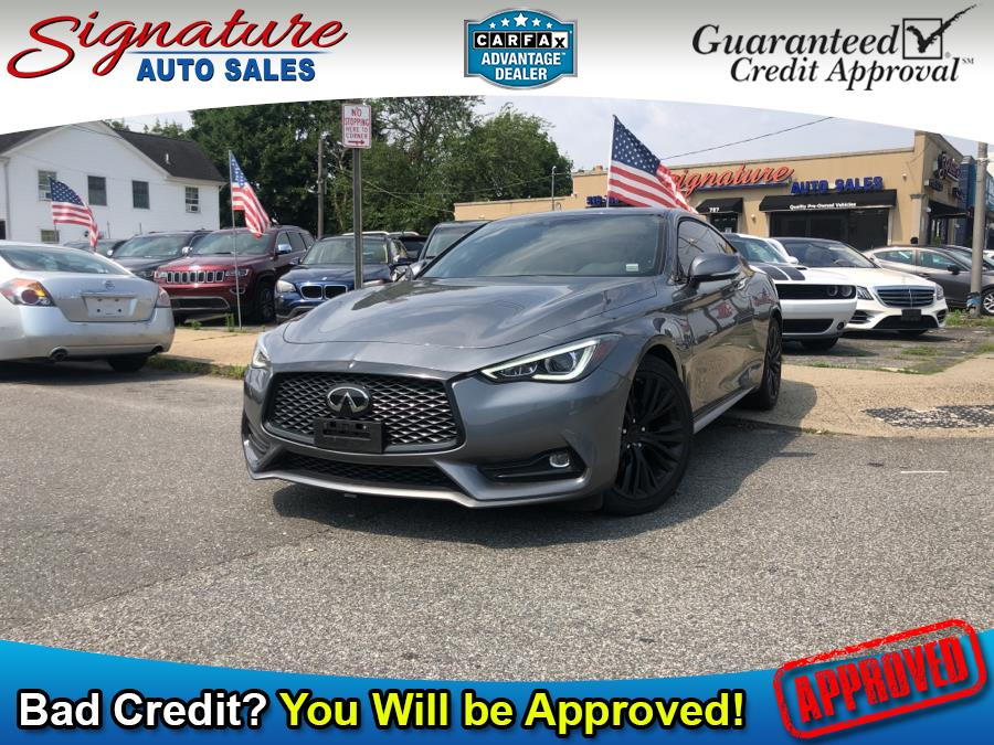 Used INFINITI Q60 3.0t LUXE AWD 2019 | Signature Auto Sales. Franklin Square, New York