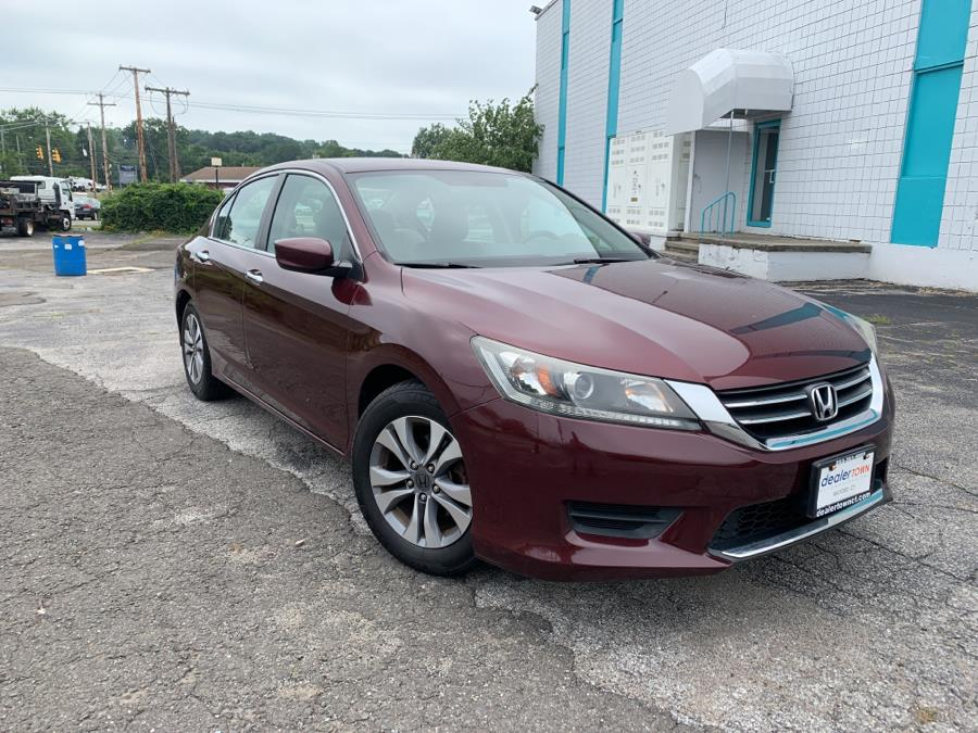 Used Honda Accord Sedan 4dr I4 CVT LX 2014 | Dealertown Auto Wholesalers. Milford, Connecticut