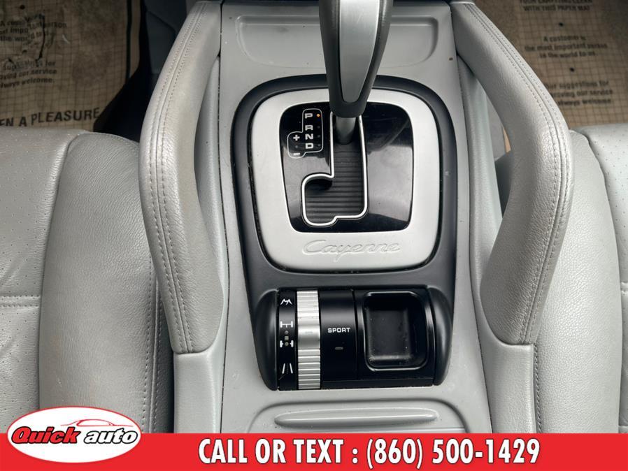 Used Porsche Cayenne AWD 4dr Tiptronic 2008   Quick Auto LLC. Bristol, Connecticut