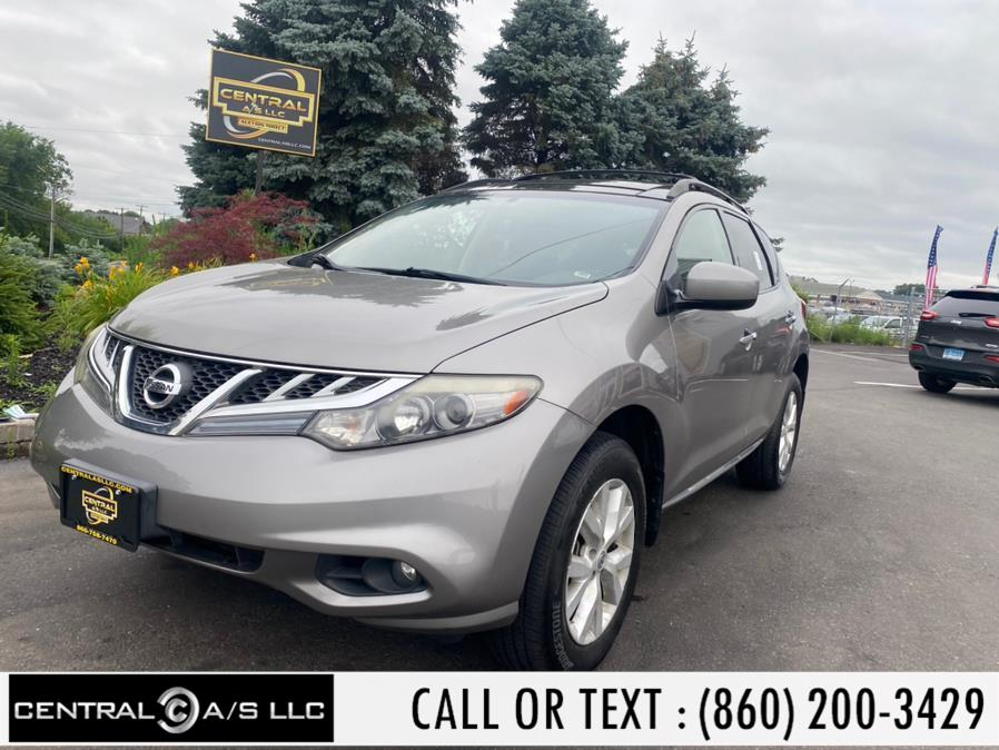 Used Nissan Murano AWD 4dr SL 2012   Central A/S LLC. East Windsor, Connecticut