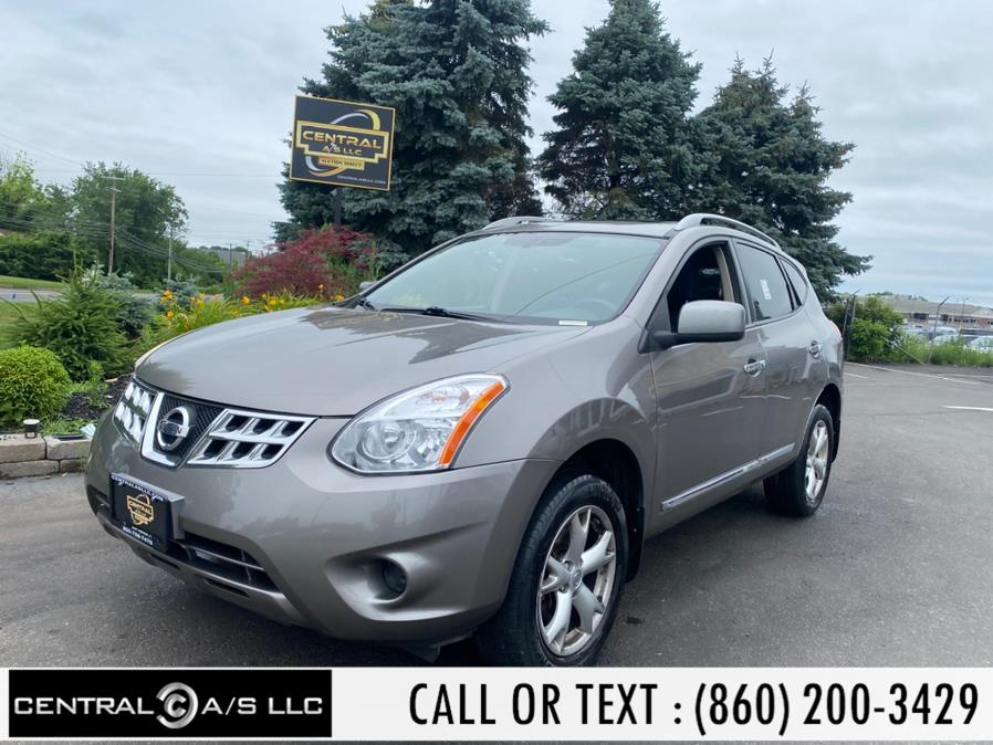 Used Nissan Rogue AWD 4dr SV 2011 | Central A/S LLC. East Windsor, Connecticut