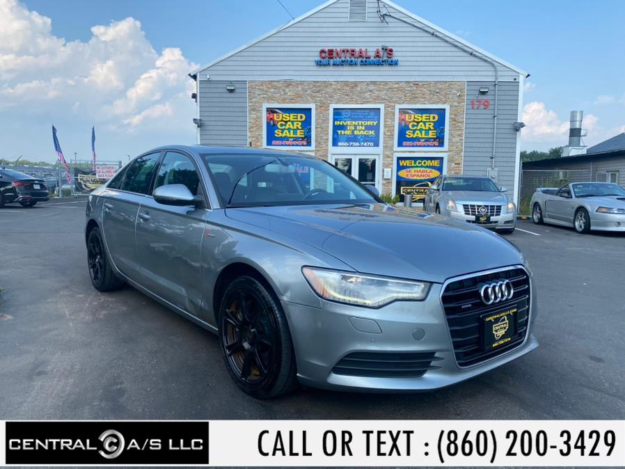 Used Audi A6 4dr Sdn quattro 3.0T Premium 2012   Central A/S LLC. East Windsor, Connecticut