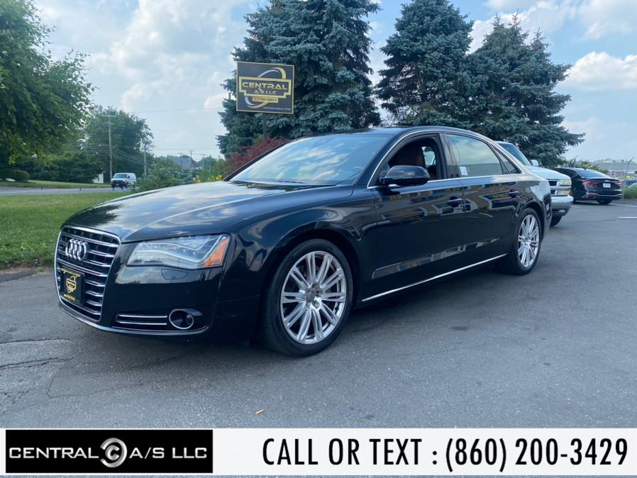 Used Audi A8 L 4dr Sdn 3.0L 2013 | Central A/S LLC. East Windsor, Connecticut