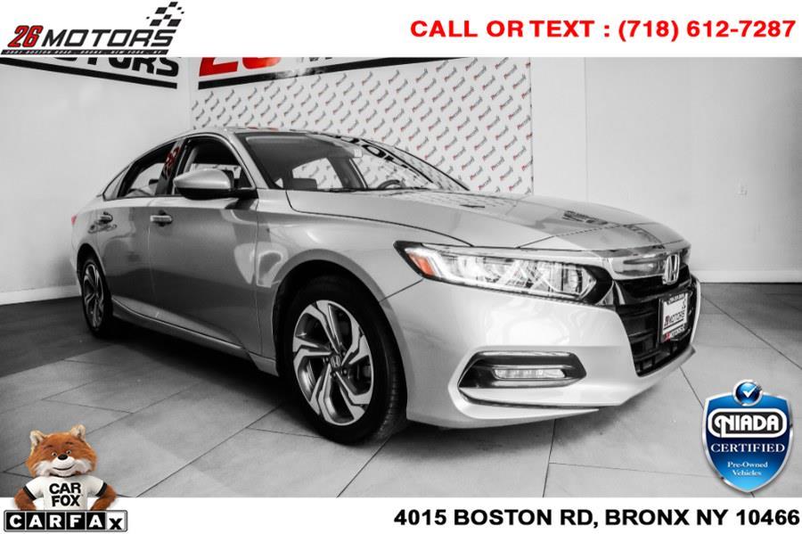 Used Honda Accord Sedan EX 1.5T CVT 2020   26 Motors Corp. Bronx, New York