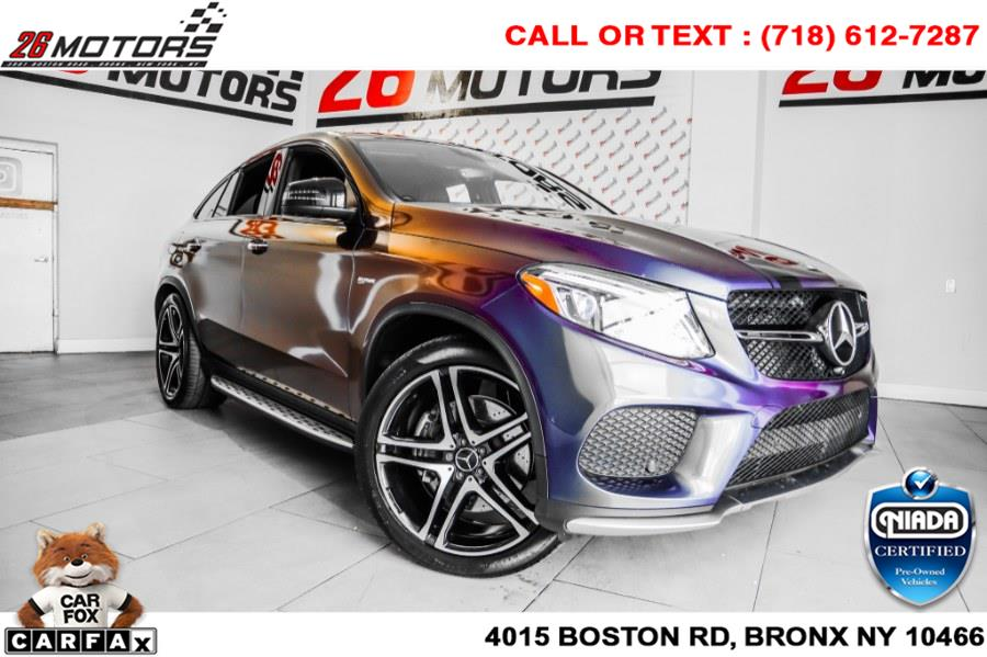 Used Mercedes-Benz GLE AMG GLE 43 4MATIC Coupe 2017 | 26 Motors Corp. Bronx, New York