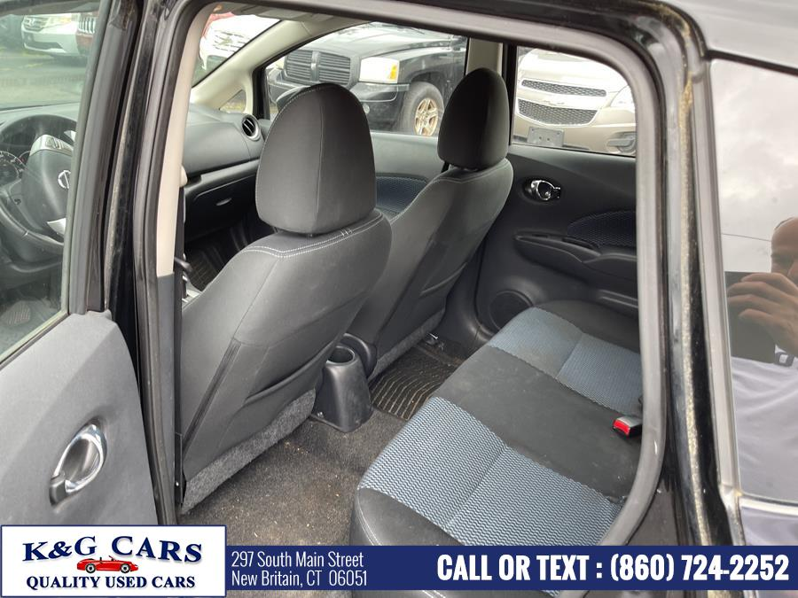 Used Nissan Versa Note 5dr HB CVT 1.6 S Plus 2015   K and G Cars . New Britain, Connecticut