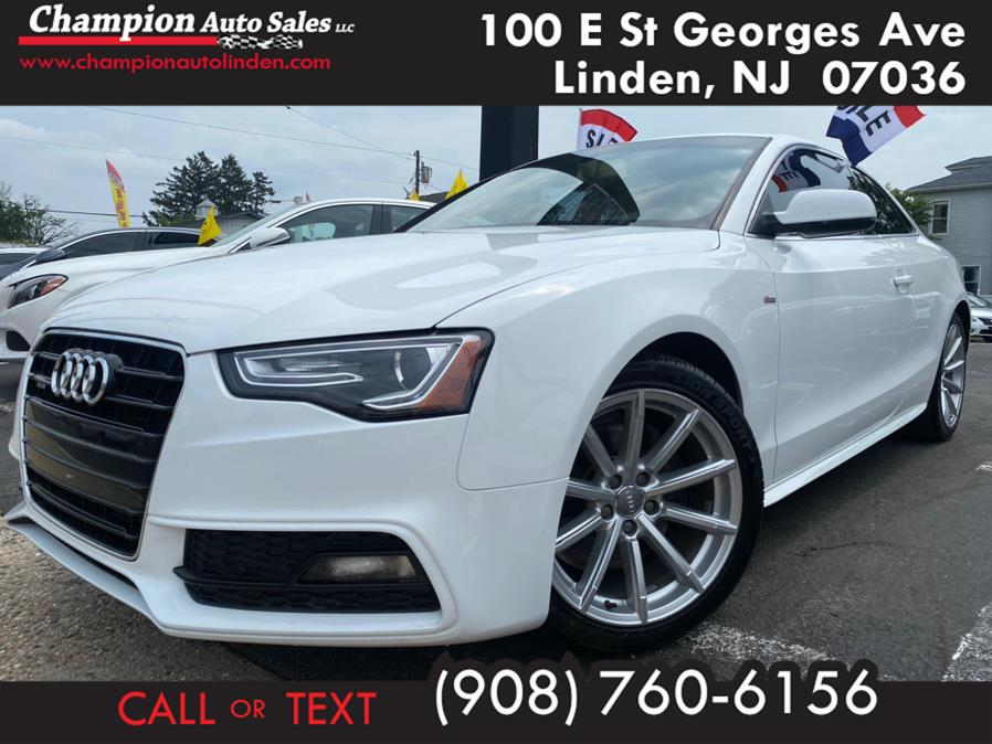 Used 2015 Audi A5 in Linden, New Jersey | Champion Used Auto Sales. Linden, New Jersey