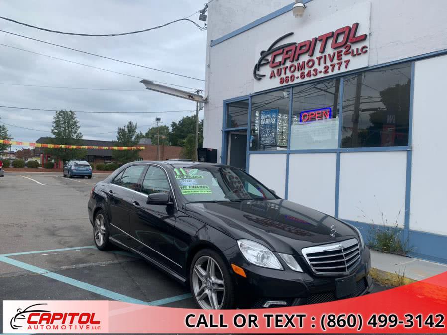 Used 2011 Mercedes-Benz E-Class in Manchester, Connecticut | Capitol Automotive 2 LLC. Manchester, Connecticut