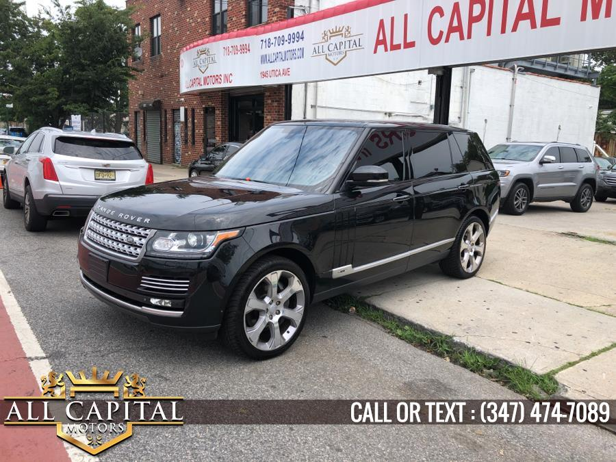 Used Land Rover Range Rover 4WD 4dr Autobiography LWB 2015 | All Capital Motors. Brooklyn, New York