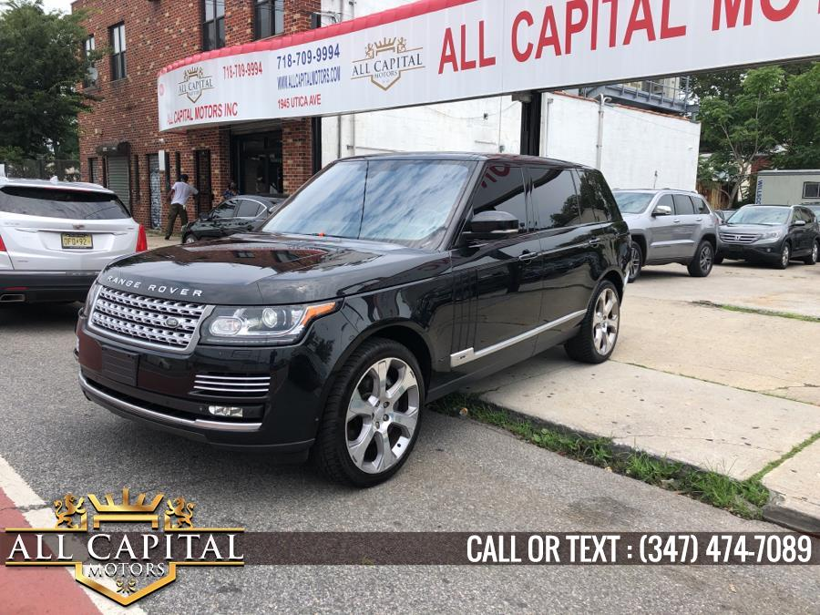 Used 2015 Land Rover Range Rover in Brooklyn, New York | All Capital Motors. Brooklyn, New York
