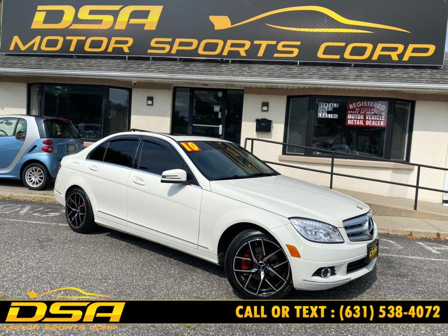 Used Mercedes-Benz C-Class 4dr Sdn C300 Luxury 4MATIC 2010 | DSA Motor Sports Corp. Commack, New York