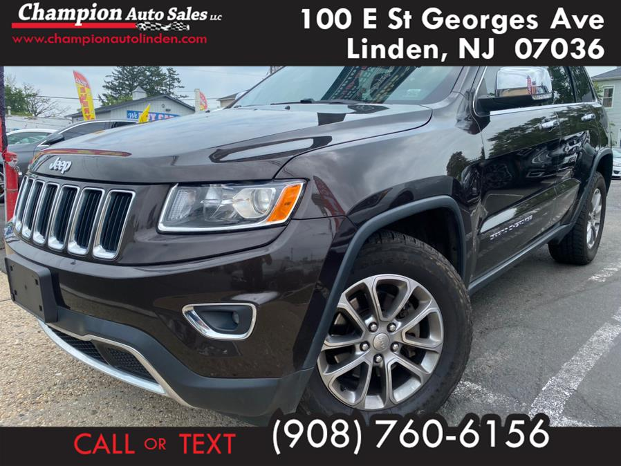 Used 2016 Jeep Grand Cherokee in Linden, New Jersey   Champion Auto Sales. Linden, New Jersey