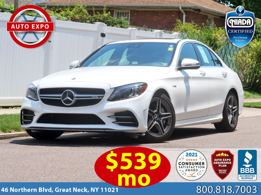 Used Mercedes-benz C-class C 43 AMG® 2020 | Auto Expo Ent Inc.. Great Neck, New York