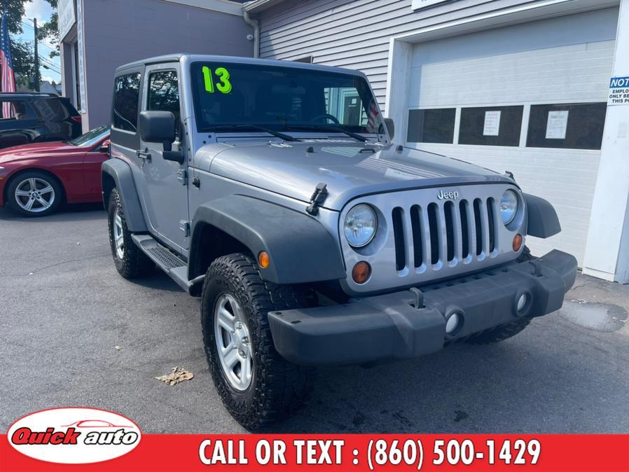 Used 2013 Jeep Wrangler in Bristol, Connecticut | Quick Auto LLC. Bristol, Connecticut