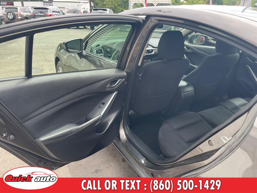 Used Mazda Mazda6 4dr Sdn Auto i Sport 2016 | Quick Auto LLC. Bristol, Connecticut