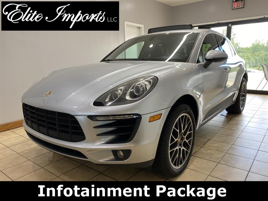 Used Porsche Macan S AWD 4dr SUV 2015 | Elite Imports LLC. West Chester, Ohio