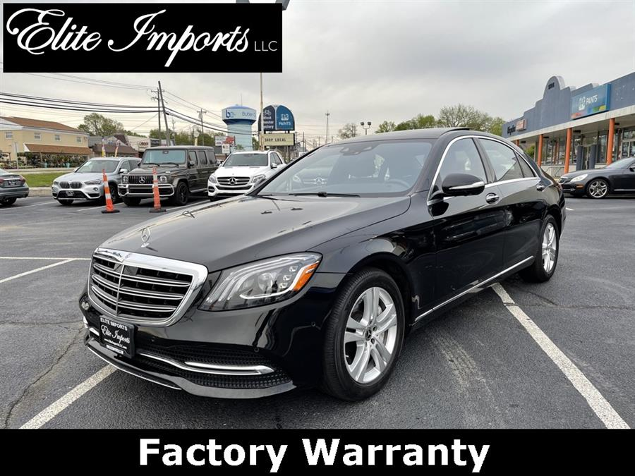 Used Mercedes-benz S-class S 450 2018   Elite Imports LLC. West Chester, Ohio