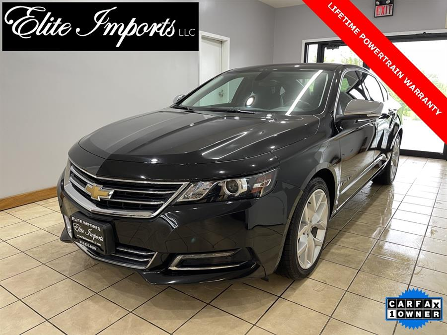 Used Chevrolet Impala Premier 2019   Elite Imports LLC. West Chester, Ohio