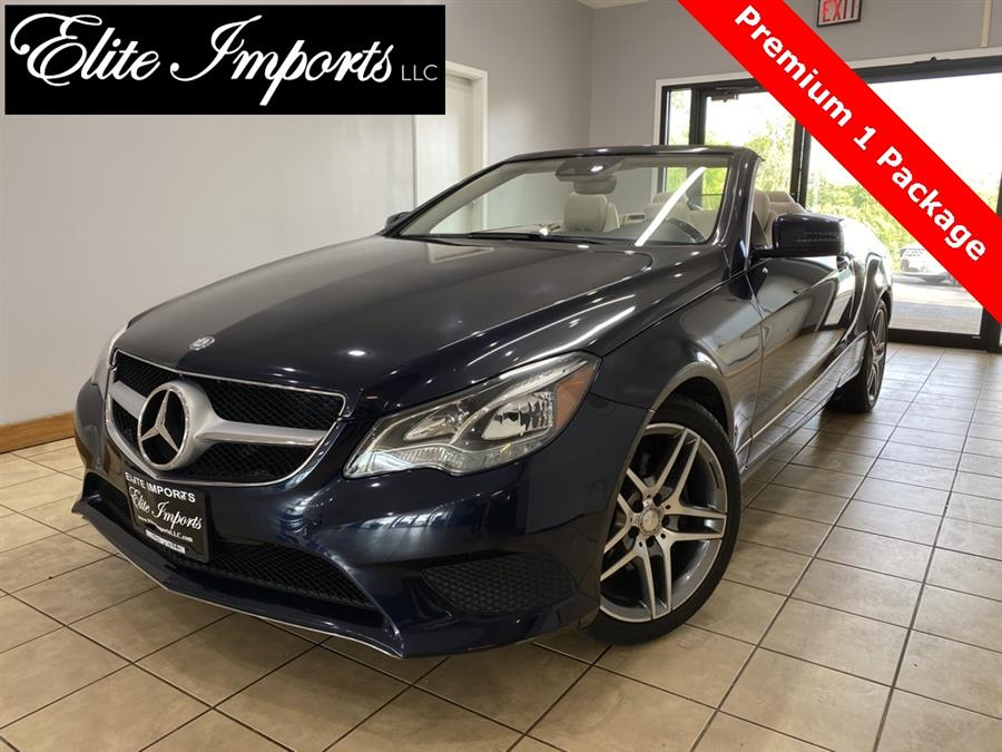 Used Mercedes-benz E-class E 350 2dr Convertible 2014 | Elite Imports LLC. West Chester, Ohio