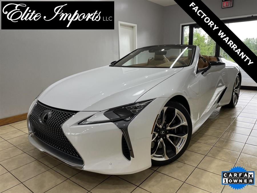 Used Lexus Lc 500 Convertible Base 2dr Convertible 2021 | Elite Imports LLC. West Chester, Ohio