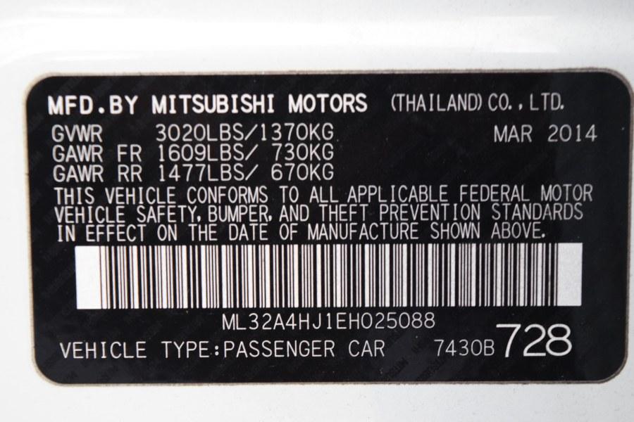 Used Mitsubishi Mirage 4dr HB CVT ES 2014 | Rahib Motors. Winter Park, Florida