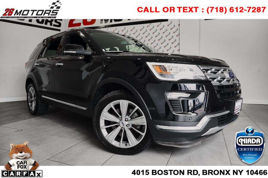 Used Ford Explorer Limited 4WD 2018 | 26 Motors Corp. Bronx, New York