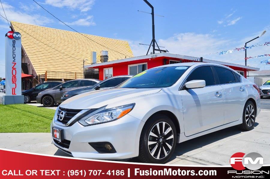 Used Nissan Altima 2.5 SV Sedan 2018 | Fusion Motors Inc. Moreno Valley, California