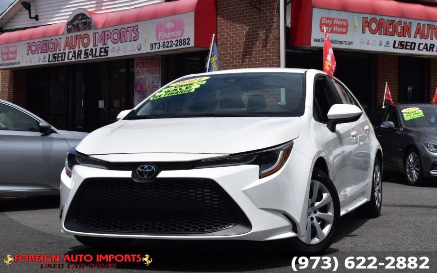 2021 Toyota Corolla LE CVT (Natl) photo
