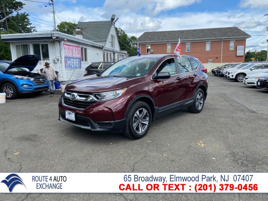 Used Honda CR-V LX AWD 2018   Route 4 Auto Exchange. Elmwood Park, New Jersey