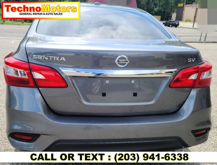 Used Nissan Sentra SV CVT *Ltd Avail* 2019   Techno Motors . Danbury , Connecticut