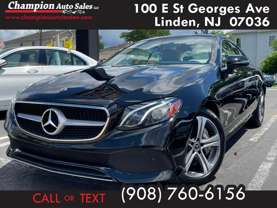 Used 2018 Mercedes-Benz E-Class in Linden, New Jersey | Champion Auto Sales. Linden, New Jersey