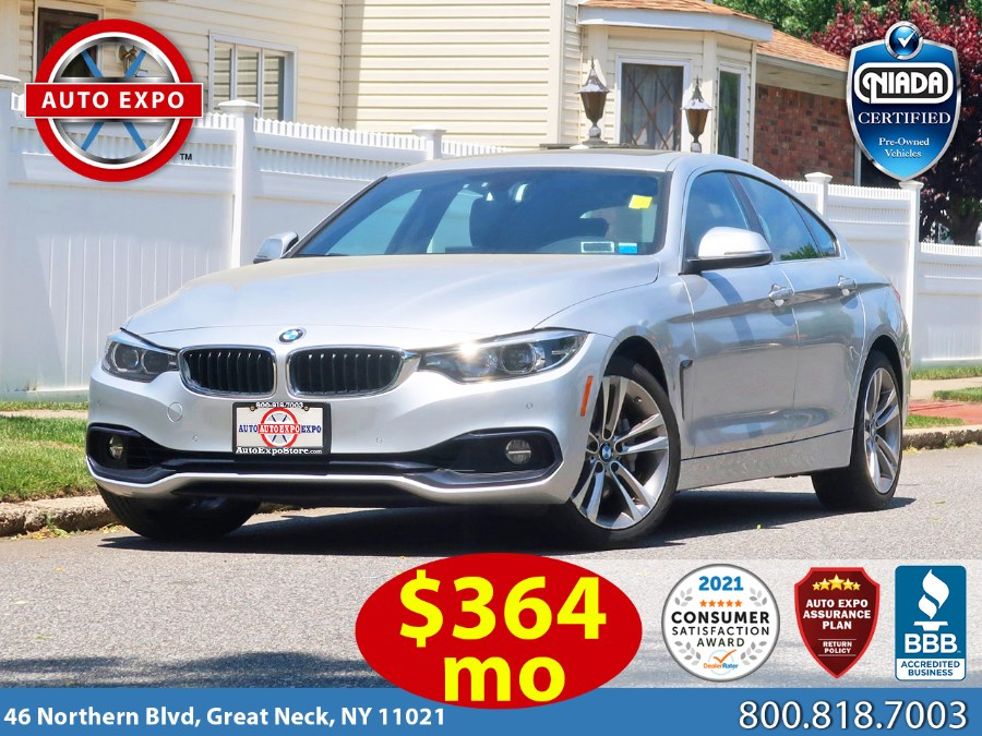 Used BMW 4 Series 440i xDrive Gran Coupe Sport Line Package 2018 | Auto Expo Ent Inc.. Great Neck, New York