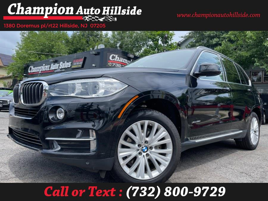 Used 2016 BMW X5 in Hillside, New Jersey | Champion Auto Hillside. Hillside, New Jersey