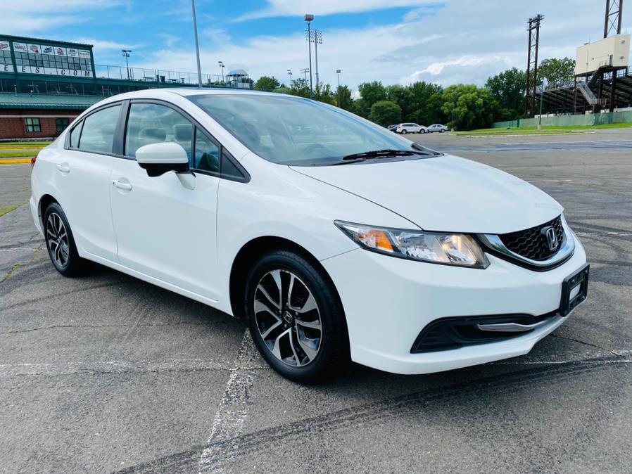 Used Honda Civic Sedan 4dr CVT EX 2014 | Supreme Automotive. New Britain, Connecticut